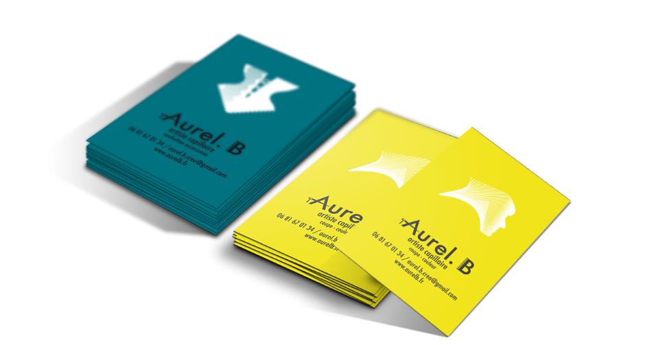 Les cartes de visite d'Aurel.B